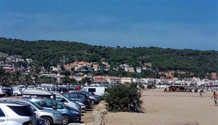 Aparcar playa estartit parking