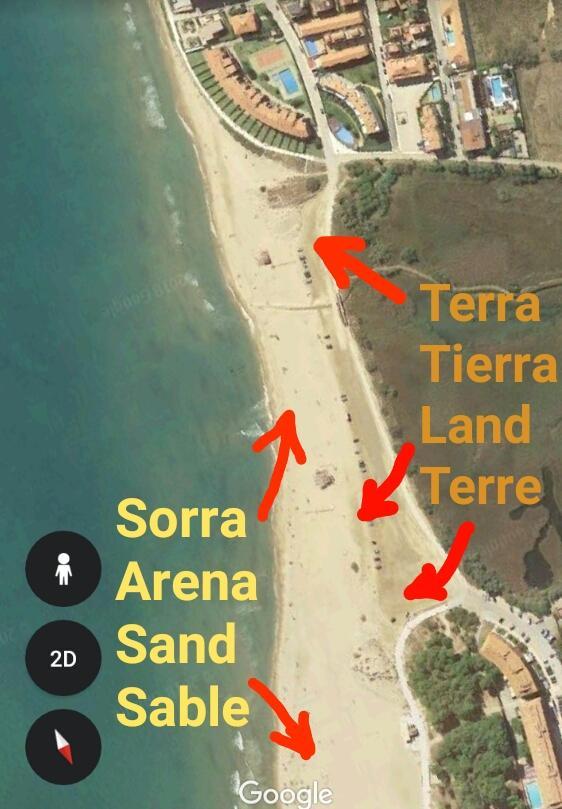 Arena estartit playa
