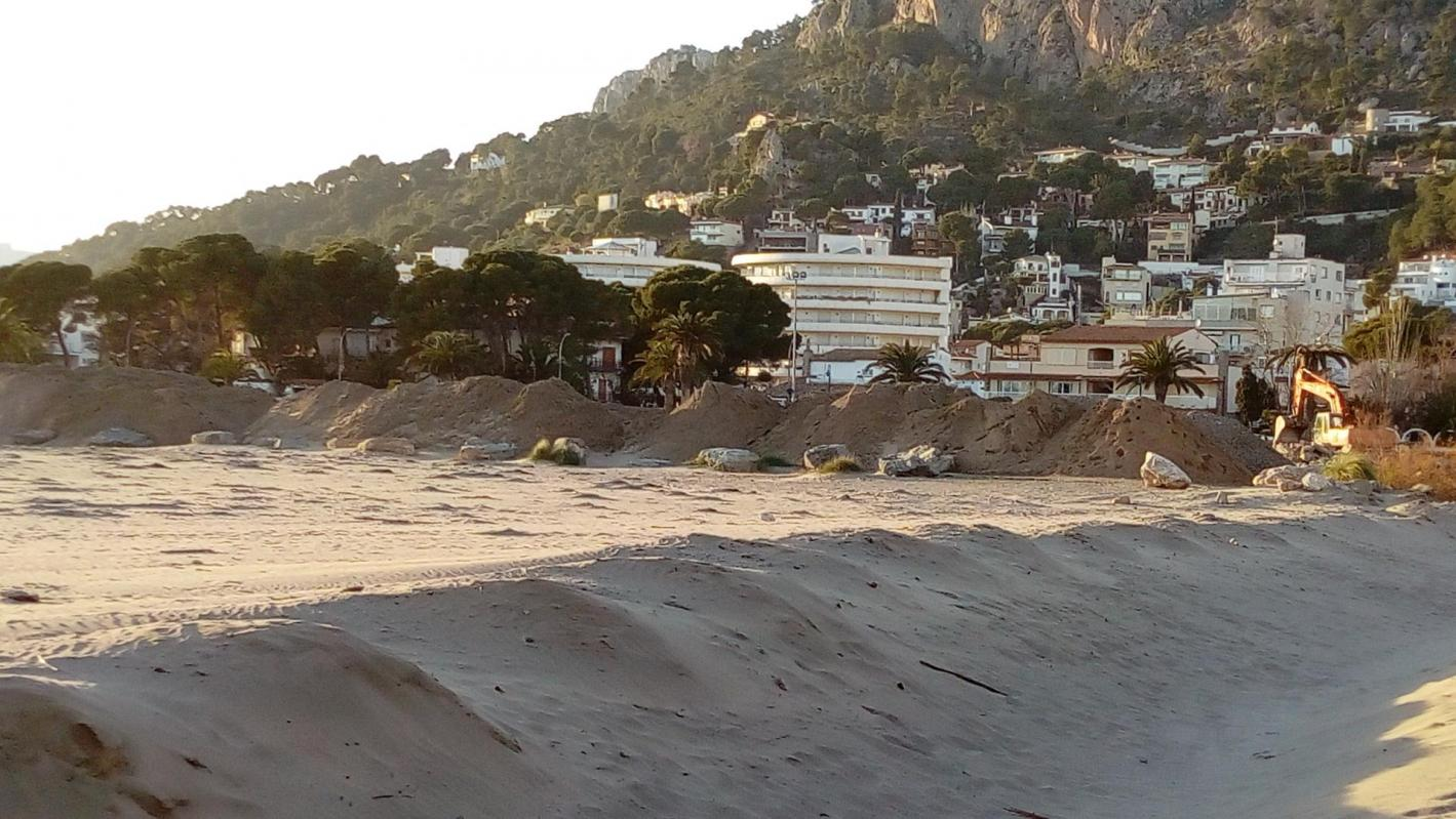 Estartit platja lest