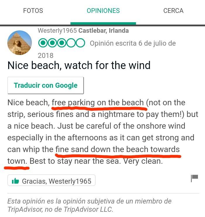 Parking beach estartit