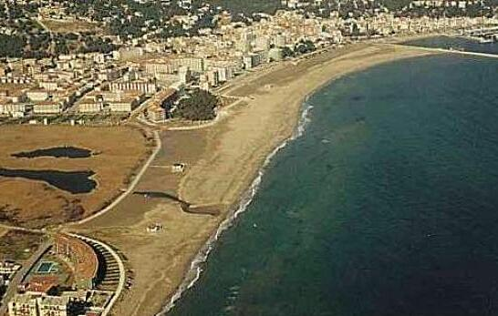 Playa platja estartit beach plage strand