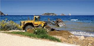 Sorra platja estartit medes