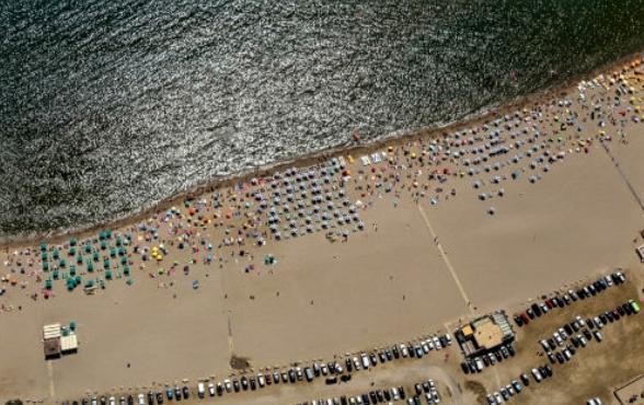 Vista platja playa estartit